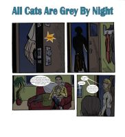 Commission: All Cats Are Grey By Night by Alektra007