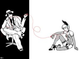 Red String of Fate by mayflo