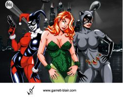 Gotham Gals by G Blair by Mythical-Mommy