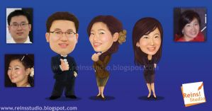 CEO Caricature By Reins Studio by Reinsstudio