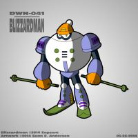 Mega Man 6 - Blizzardman by TheRealSneakers