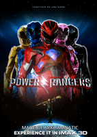 Power Rangers movie poster by ArkhamNatic