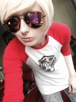 The name is Strider, Dave Strider by Knight-Of-Heart-Kaz
