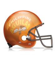 Philippine Aguilas American Football Helmet by GovectorZ