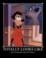 Max Totally Looks Like Timon by stephigdc