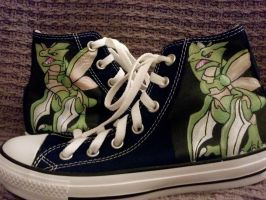 Scyther Shoe Commission by Brokenfeather-san