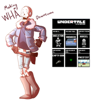 I guess this makes this an undertale oc... by Kattinx