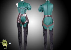 Fate/Zero Lancer Cosplay Costume + Wig by cosplayfield
