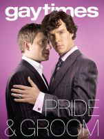 Sherlock and John on the Cover by Nero749