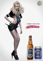Tiger Beer Ads (Assignment) by hyoori