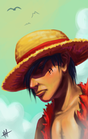 Luffy by pkhenhen