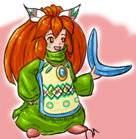 Popoi -  Secret of Mana by Pixies-poke