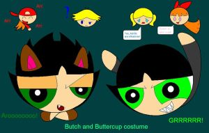 Butch and Buttercup costume by BoomerXBubbles