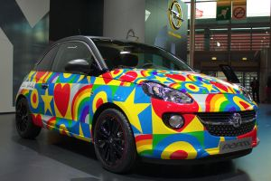 Paris 2012: Vauxhall Adam Peter Blake by randomlurker