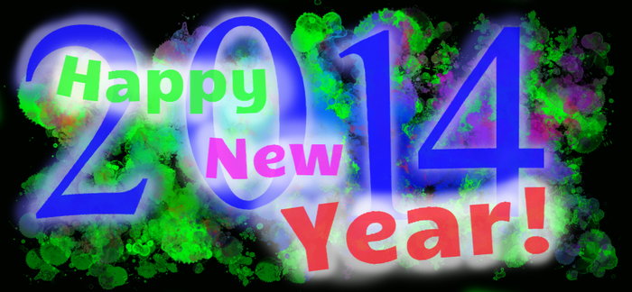 Happy New Year - 2014 by Ralphy-G6