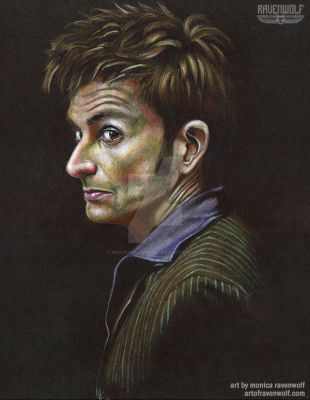 The 10th Doctor - David Tennant by The-Art-of-Ravenwolf