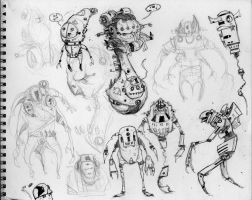 Xtra Death Race Sketches by Axel13-Gallery