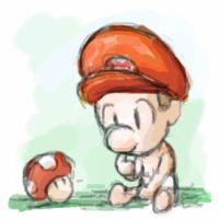 Baby Mario by Ge-B