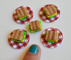 Improved Mini Sandwiches by yobanda