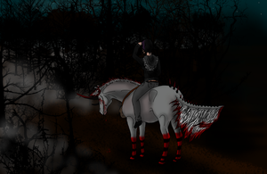 Lost-N-Haunted-HARPG WBS Blood Of A Widow by angry-horse-for-life