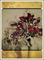 iPhoneography, A Gift of Flowers by Gerald-Bostock
