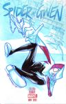 SPIDER GWEN #1 (Blank cover) by mytymark