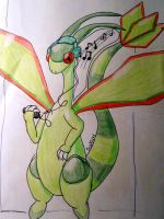 .:-Heatphones' DevID-:. Flygon by Heatphones