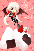 +Happy Birthday Holly+ by PANDAMELLONS