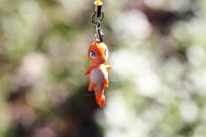 Pokemon Charmander Polymer Clay Charm by thearctisticfox
