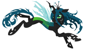Queen Chrysalis version 1 by Edo-Wonka