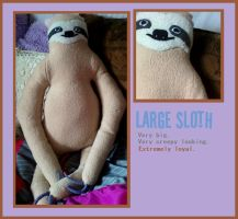Edgar the Sloth by Ashwahhh