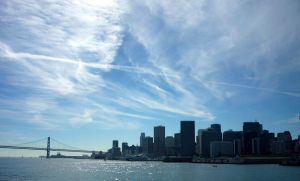 San Francisco sky line by 7whitefire7