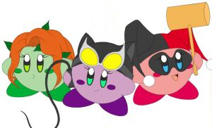 Gotham City Kirby Sirens by CyanSoul