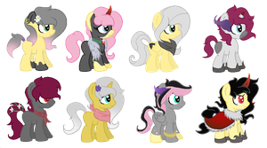 CMSF - King Sombra x Fluttershy [CLOSED] by Pikadopts