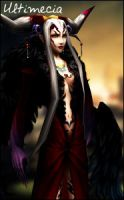 Dissidia 012 Ultimecia by raidergale