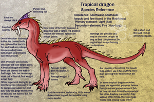 Tropical dragon species ref by Da-Lizzard