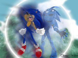 Sonic the Bio-Boosted Hedgehog by tbone111