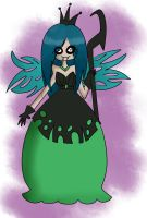 Queen Chrysalis (Humanized) v.1 by dinosauriomutante