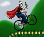 The King of the Bottle Runs by hotcheeto89