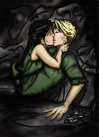 In the Cave- Colored by AMClaussen