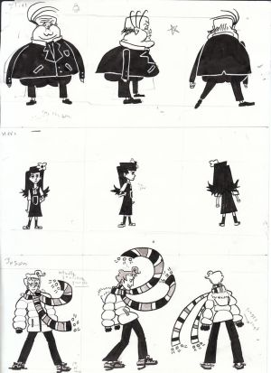 Thesis Character Designs