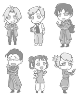 FMA Charms ^^ by DiamondMog