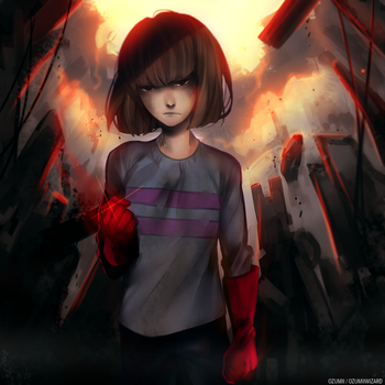 Genocide Route by Ozumii