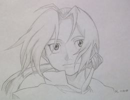 Edward Elric by MoPotter