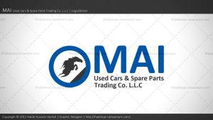 MAI Used Cars and Spare Parts Trdg. Co. LLC | Logo by habibsain