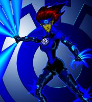 Manga Angel's Blue Lantern by What-the-Gaff