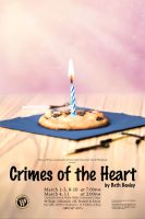 Crimes of the Heart poster by GoaliGrlTilDeath