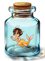 I'm a little yellow fish - Lovi by x-Lilou-chan-x