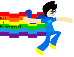 John is not a homosexual by BWpixel