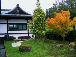 Temple garden by Jack-In-The-Green